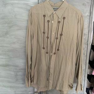 Lucky Brand linen shirt